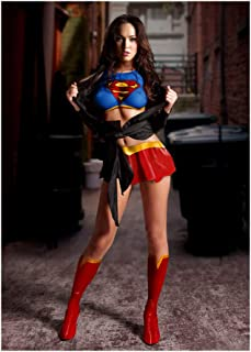Megan Fox Super Girl Poster Print Wall Decor 24x36 Inches Photo Paper Material Unframed