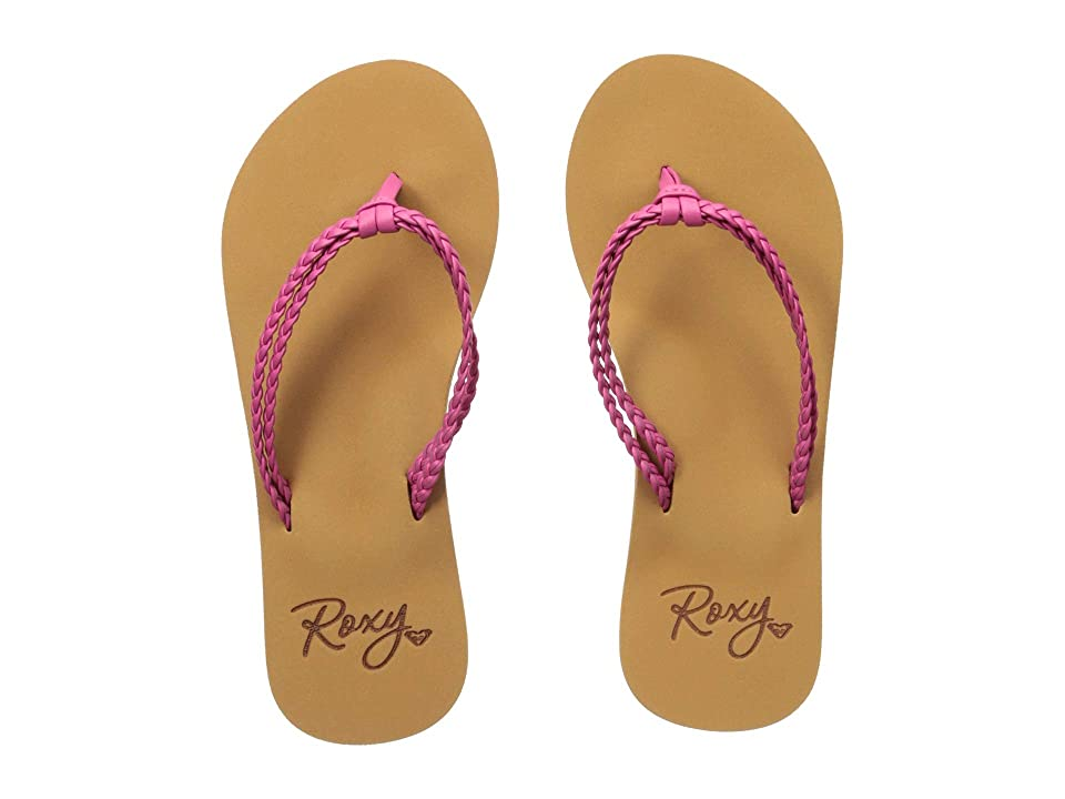 Roxy Kids Costas (Little Kid/Big Kid) (Raspberry) Girls Shoes
