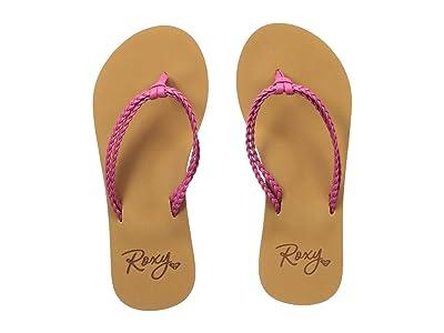 Roxy Kids Costas (Little Kid/Big Kid) (Raspberry) Girls Shoes