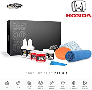 Color N Drive | Honda B553P - Vortex Blue Pearl/Cobalt Blue Pearl Touch Up Paint | Compatible with All Honda Models | Paint Scratch, Chips Repair | OEM Quality | Exact Match | Pro