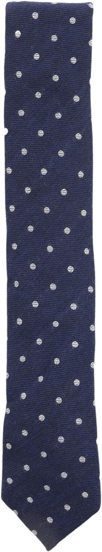 Altea Milano Men's Dot Pattern Wool Necktie