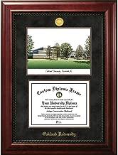 OCM Oakland University Executive Campus Image and Diploma Frame