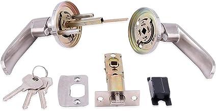 Slot Accessoire Hardware Indoor Huis Gebruik Handvat Hendel Balvorm Anti-Corrosie Roestvrijstalen Passage Entry Knob Deurs...