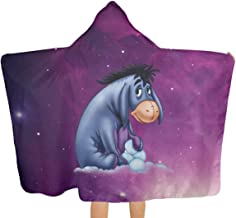 VIMMUCIR Novelty Hooded Blankets, Sherpa 3D Throw Blankets Warm Cozy Blankets for Kids Adults 60