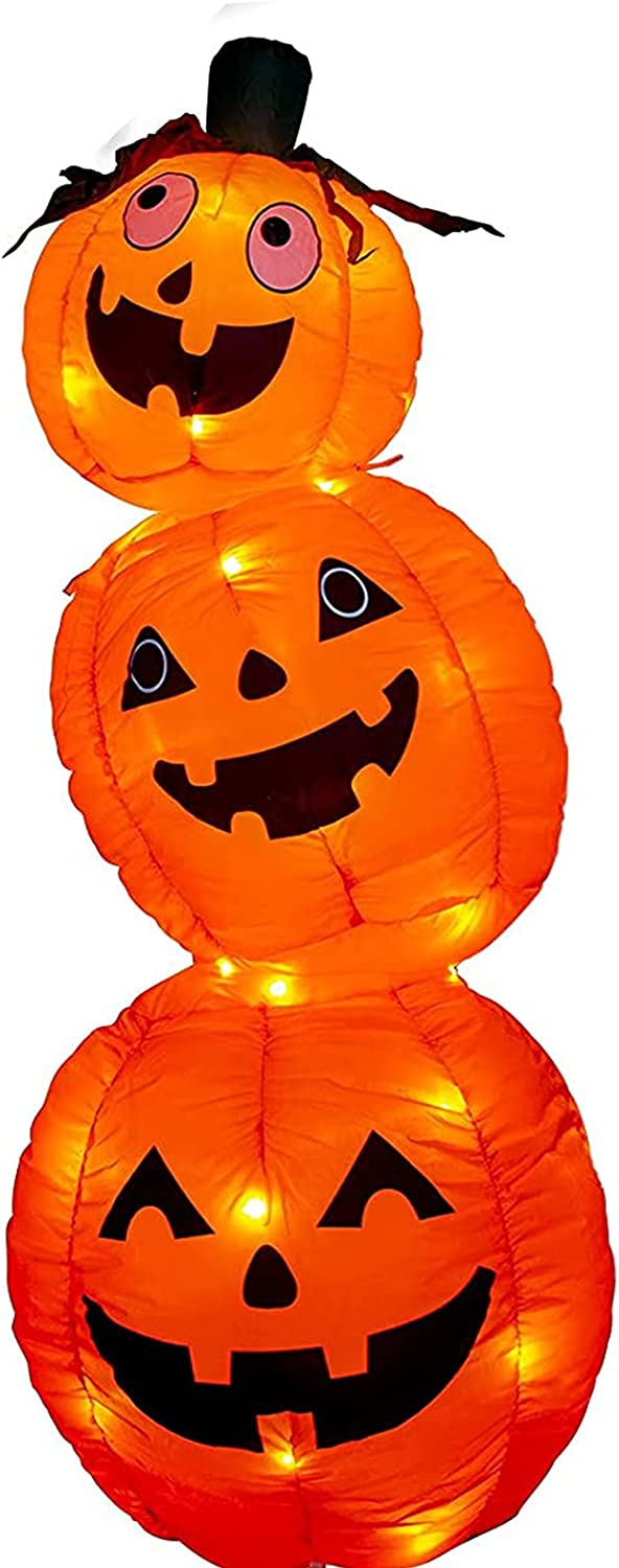 Recommendation 1 year warranty EAMBRITE 4FT Halloween Inflatable Pumpkin LED 52LT L with Orange