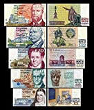 *** 5,10,20,50,100 irische Pfund - Banknoten - alte irische Währung - Reproduktion *** -