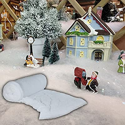 10 Metre Roll Of Fake Snow - For Christmas Crafts & Projects