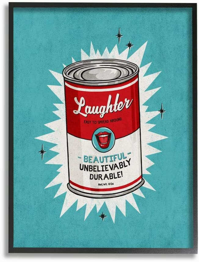 Selling ! Super beauty product restock quality top! rankings Stupell Industries Canned Laughter Funny Comic Vintage Des Book