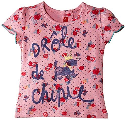 Chipolino - Tee-Shirt, T-shirt da bimbo, rosa(Pink - Rose (Fleur)), Taglia produttore: 18 mesi