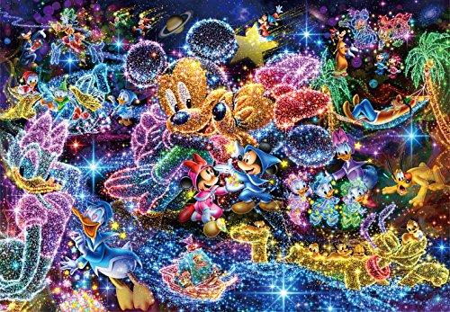 1000ピース ジグソーパズル  ディズニー 星空に願いを… 【ステンドアート】(51.2×73.7cm)