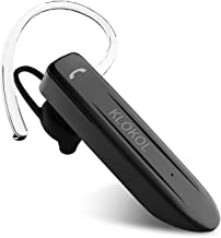 KLOKOL Bluetooth Headset 28Hrs Playtime Wireless Bluetooth Earpiece for Cell Phone Noise..