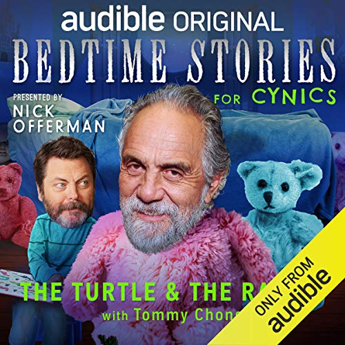 Ep. 8: The Turtle and the Rabbit with Tommy Chong (Bedtime Stories for Cynics) copertina