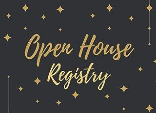 Open House Registry: Real Estate Brokers, Estate Agents, Home Sellers, Visitor Register, Registry And Log Book For Brokers...