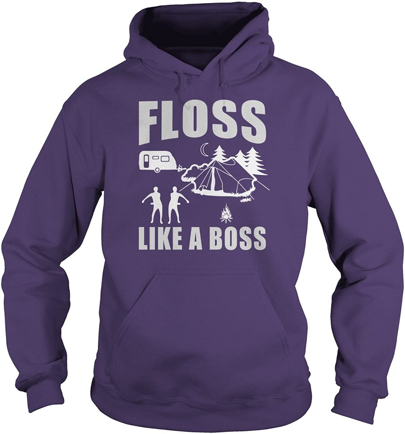 Floss Like A Boss Dancing Funny Camping TShirt