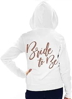 RhinestoneSash Bride, Bridal Party Zip Hoodie - Bride, Team Bride, I Do Crew Hoodie - Bachelorette Party Hoodie