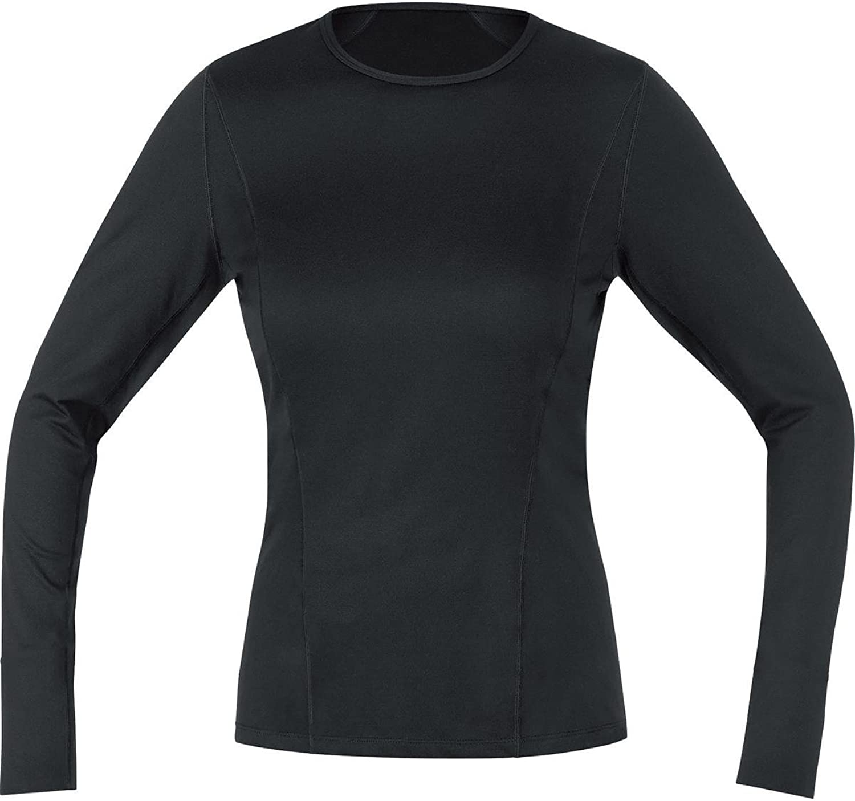 Gore Running Wear 2015 16 Women's Essential BL Long Sleeve Lady Run Shirt  UESLLD