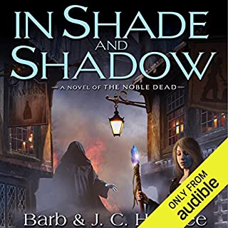 In Shade and Shadow audiobook cover art