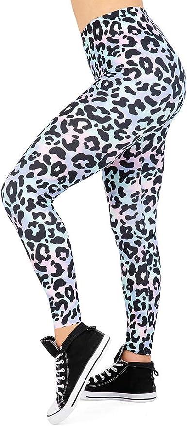 Amazon Com Leggings De Mujer Sin Costuras Para Entrenamiento Sexy Estampado De Leopardo Color Rojo Pantalones De Adelgazamiento Para Mujeres Y Niñas Talla única Clothing