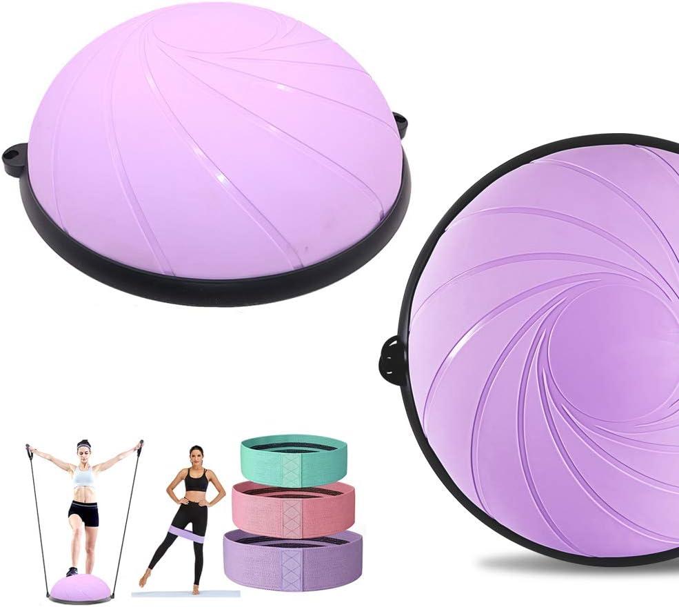 バーゲンセール Shikha Half Ball Balance Trainer Yoga wi Exercise 訳あり商品 Balls