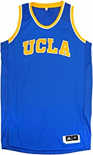 adidas UCLA Bruins NCAA Blue Authentic On-Court Pro Cut Away Road Jersey for Men