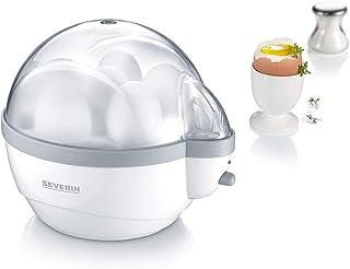 SEVERIN äggkokare, inkl. vattenmätare med äggkoppar, 6 ägg, signalton EN 1 - Pack Weiß