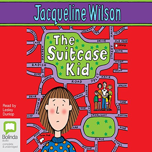 The Suitcase Kid  audiobook cover art