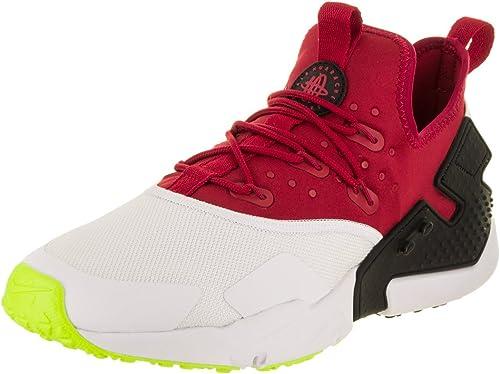 NIKEAH7334-601 - Nike para Hombre Air Huarache Drift blanco rojo Ah7334-601 hombres