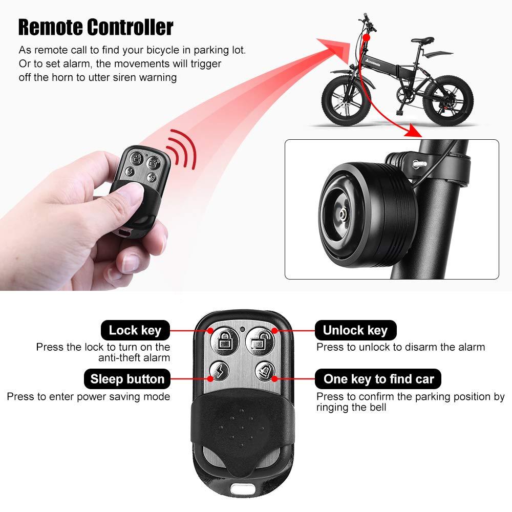 Tink bike bell horn chrome audible alarm universal atv vtc