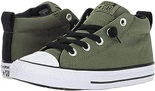 Converse Kids Chuck Taylor All Star Street Basket Weave Mid Medium Olive/Black/White
