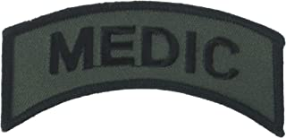 EagleEmblems PM0842 Patch-Army,Tab,Medic (Subdued) (3.5'')