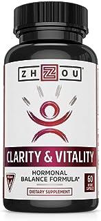 Zhou DHEA 50 mg | Hormonal Balance Formula for Women & Men | Healthy Aging | Non-GMO..