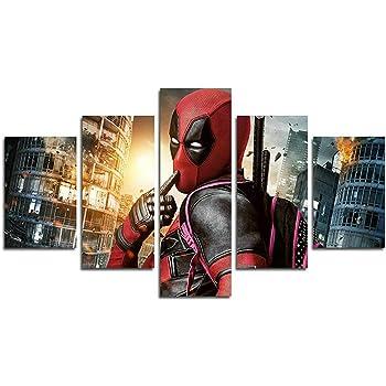 "Movies Deadpool Marvel Art ~ Canvas Wall Art Picture Print Framed 20/""x30/"""