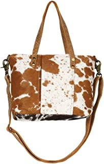 Aptitutde Cowhide & Leather Shoulder Bag S-1264