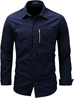 Sponsored Ad - Mens Casual Button-Down Long Sleeve Shirts