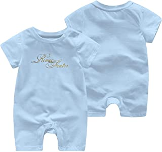 Cotton Baby Girl Jumpsuit Rompers for Baby Boys with Golden Romeo-Santos