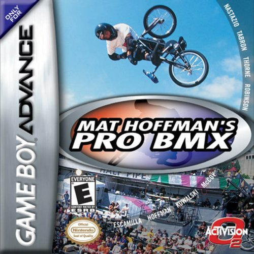 GameBoy Color - Mat Hoffman's Pro BMX