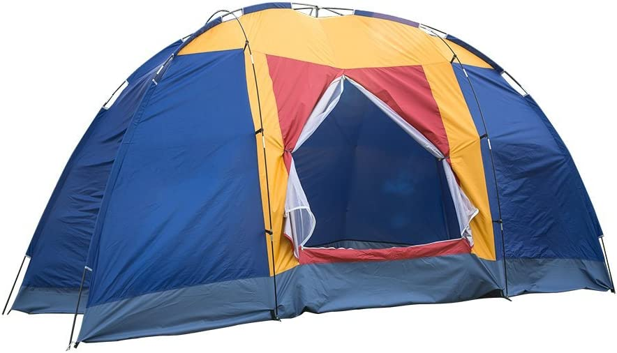 Livebest 8 Person Dome Tent Easy Ranking TOP1 Up Set Ranking TOP15 Family Camping with