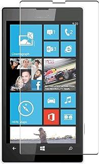 Vaxson 4-pack skärmskydd, kompatibel med NOKIA Lumia 520, TPU Guard filmskyddsklistermärke [INTE härdat glasfodral]
