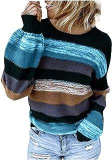 Generico Maglione Donna Invernale Felpa Ragazza Sweatshirt Oversize Pullover Invernali Natale Maglione Donna Sexy Maglione...