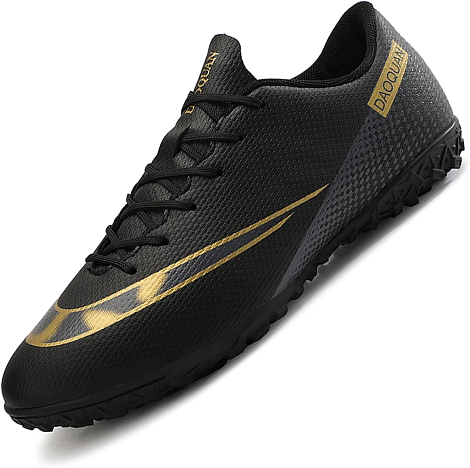 HaloTeam Men's Max 68% Phoenix Mall OFF Soccer Shoes Cleats High-Top Breatha Professional