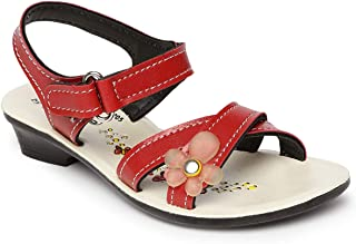 PARAGON Girl's Red Outdoor Sandals-10 Kids UK (28 EU) (A1PU0205KRED00010G189)