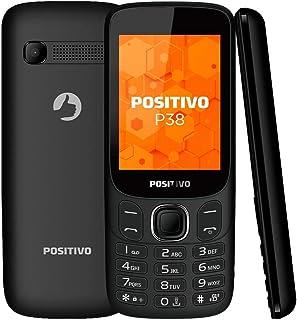 """Celular Positivo P38 3G 2.8"""" - Preto Celular Positivo P38 3G 2.8"""" - Preto"""