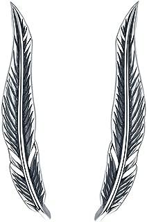 Platinum Plated Big Dipper Crawler Earrings Cuff for Women Star Climber Earrings Wrap
