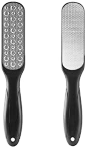 Sucica 2PCS Foot File, Premium Stainless Steel Foot Rasp File Callus Remover Professional Foot Scrubber - Colossal Fo...
