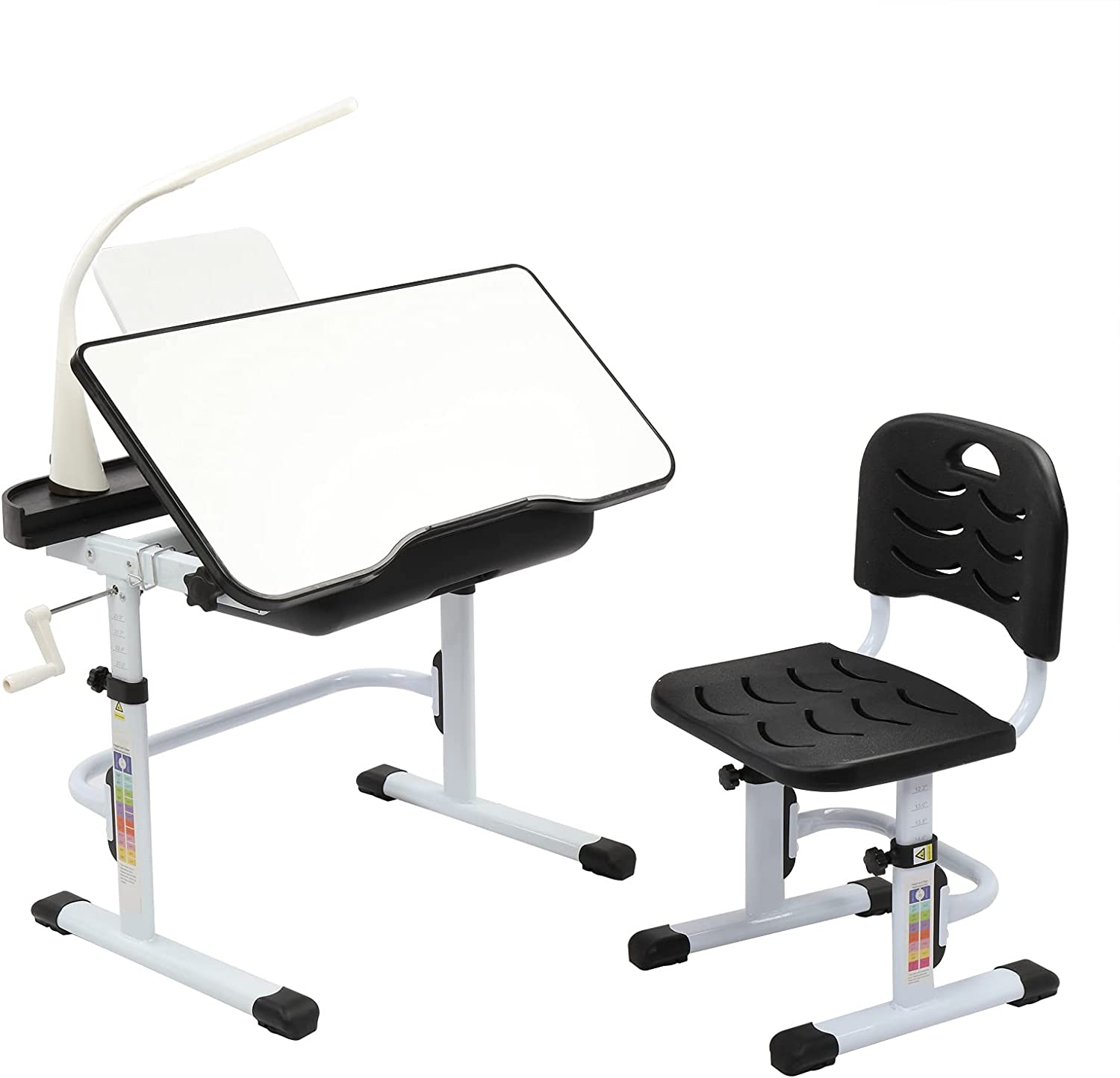 Trust VALUE BOX Kids Desk and Chair Ranking TOP8 Height w Adjustable Lamp Set Chil