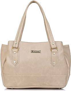 Aisna Women's Sara Handbag(ASN-216)(Beige)