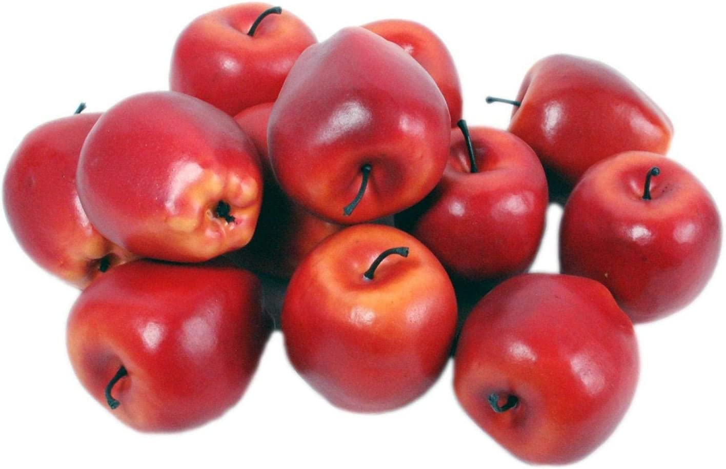 favorite Bargain Artificial Red Apples Fruit Kitchen Dining Home Office Room Deco