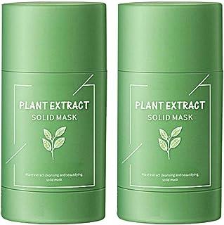Groene thee zuiveren klei stok masker natuurlijke zuiverende klei stok acne clearing effen klei meter diepe reiniging klei...
