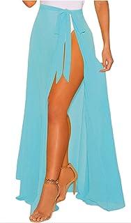 gran selección de 683f7 170d3 Amazon.es: Falda Pareo - Azul / Faldas / Mujer: Ropa