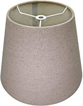 Youngerbaby Art Floral Printed Lampshades with Holders Metal Elastic Fabri Floor Table Small Round Lamp Shades Light Protector for Bedroom Home
